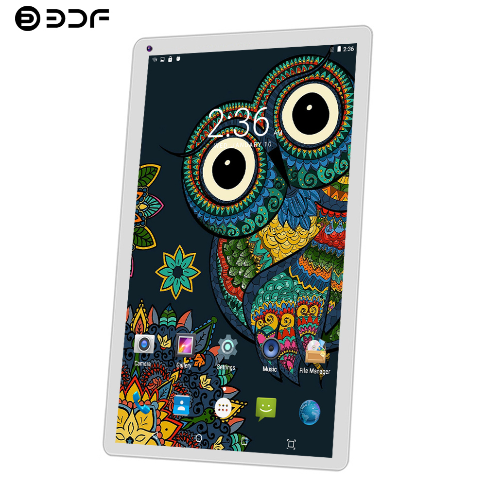 BDF 10 Inch Tablet Pc Android 5.1 WiFi Tablets Laptop Quad Core 1GB+32GB Android Tablet 10 10.1 Dual Camera Mini Tablet Android