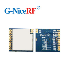 Image 4 - 2 قطعة/الوحدة RF4432PRO 100mW Si4432 FSK/ GFSK جزءا لا يتجزأ من مكافحة التدخل 433 ميجا هرتز بيانات لاسلكية مثبت جهاز إرسال واستقبال