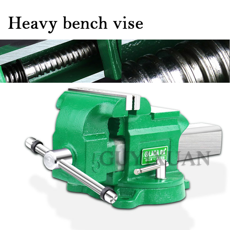Heavy Duty Bench Vise Pliers Multi-function Industrial Taiwan Tiger Clamp Vise Table Flat Pliers Table Tiger Bench Fitter