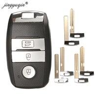 Jinyuqin Smart Key Shell für KIA K3 K3S KX3 K4 KX5 K5 Seele RIO Ceed Sportage Sorento TOY40 VA2 HYN10 HY20 Fob Fall-in Autoschlüssel aus Kraftfahrzeuge und Motorräder bei