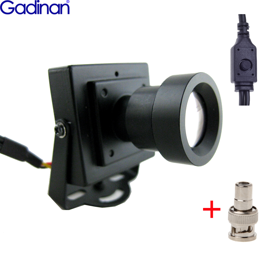 New Arrival Mini CCTV Camera High Resolution Sony Effio-E 700TVL 25mm Board Lens Security Box Color CCTV Camera