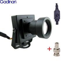Nuovo Arrivo Mini Macchina Fotografica del CCTV Ad Alta Risoluzione Sony Effio E 700TVL 25 millimetri Consiglio Lens di Sicurezza Scatola di Colore CCTV macchina fotografica