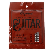 Orphee NX35-C 6pcs Classical Guitar Strings 028-045 Inch Nylon Core Steel Plated hot