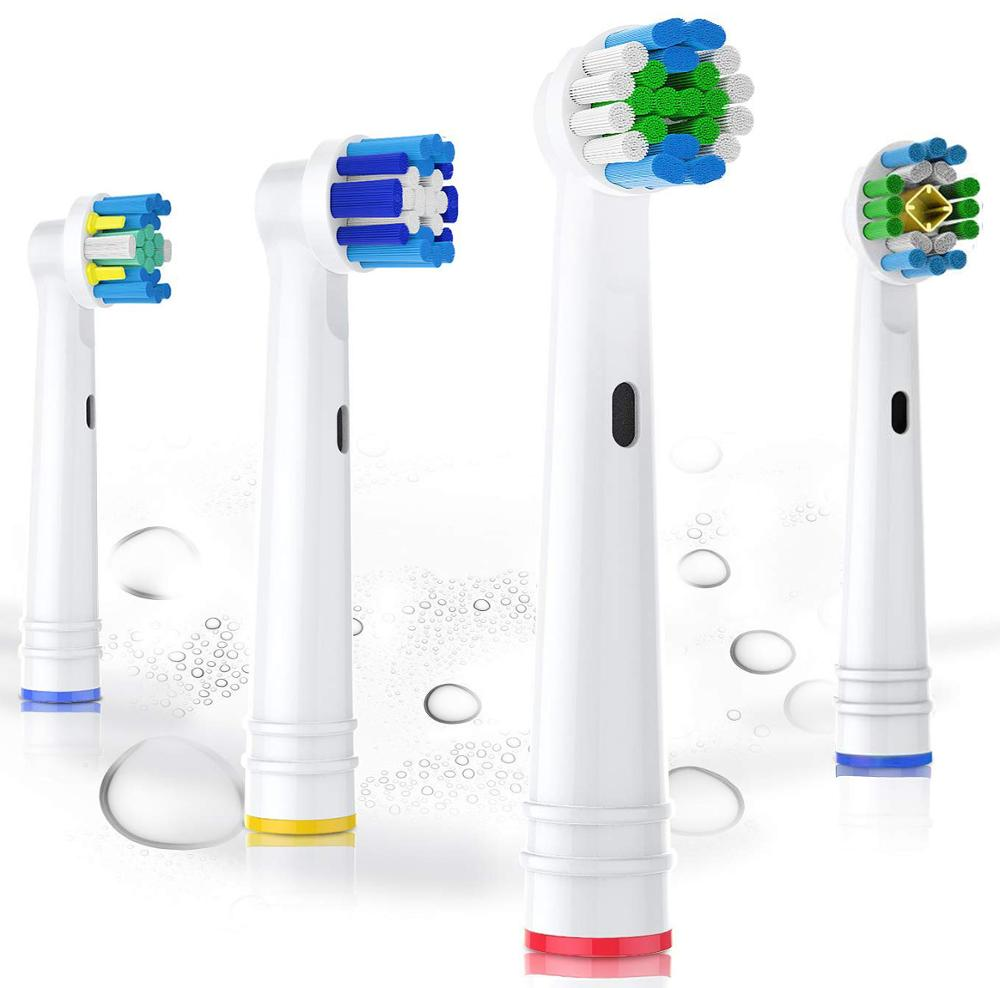 Replacement Toothbrush Heads for Oral B Electric Toothbrush Advance/Pro Health/Triumph/3D Excel/Vitality image
