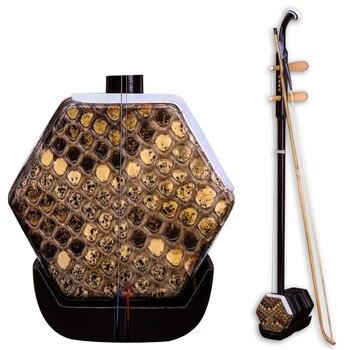 Erhu Chinese Instrument De Cuerda Huqin Strik Muziek With Bow String Erhu Accessories Folk String Instruments Er Hu Case