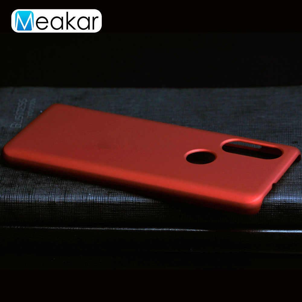 Matte Plastik Coque Cover 5.86For Moto Satu Case untuk Motorola Moto Satu P30 P40 Visi Power Play Catatan Telepon Kembali coque Cover Case