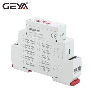 Image 3 - GEYA GRT8 M Einstellbare Multifunktions Timer Relais mit 10 Funktion Entscheidungen AC DC 12V 24V 220V 230V zeit Relais Din schiene