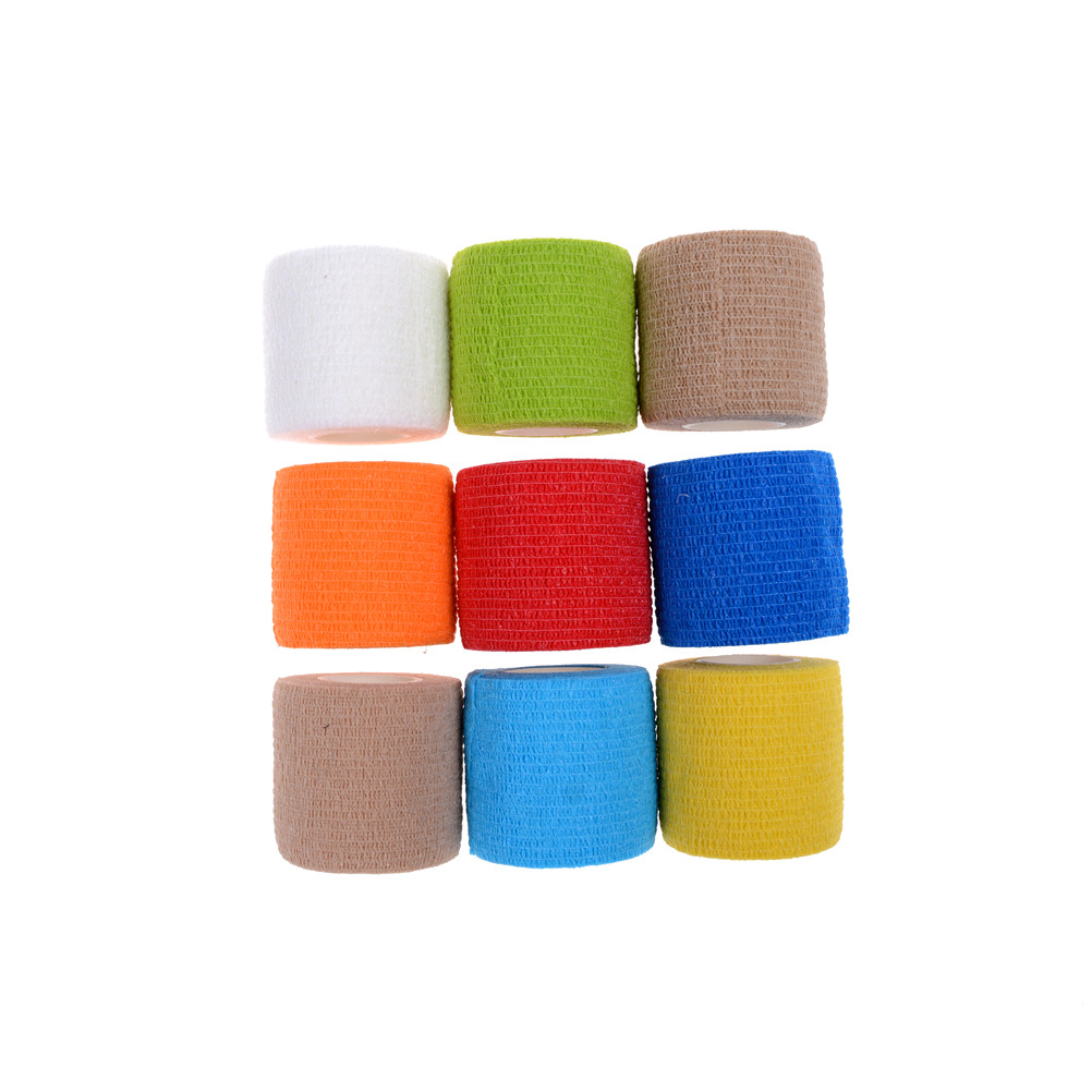 Waterproof Elastic Self Adhesive Medical Bandage Tape Nonwoven Cohesive First Aid Kit For Ankle Finger Muscle Care