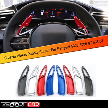 Steering Wheel Paddle Shifters for Peugeot 3008 5008 /3008 GT 2020-2019 Car Styling Interior Accessories