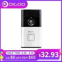 DIGOO SB-XYZ Wireless Bluetooth and WIFI Smart Home HD Video DoorBell Camera Phone Ring Security Camera Monitor couples blanket