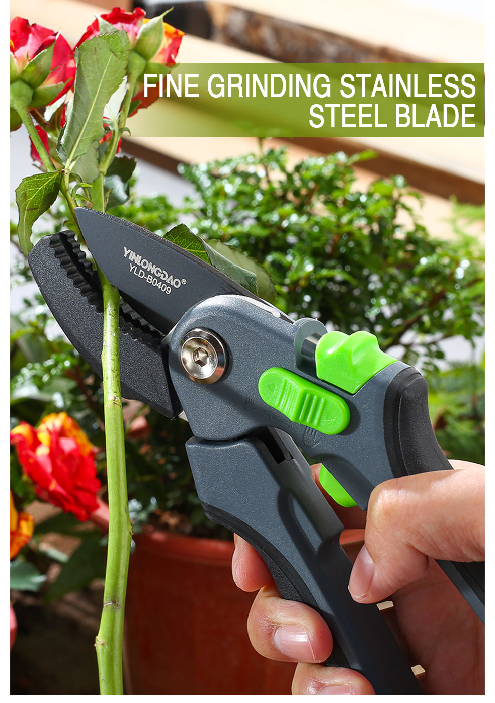 DTBD Time Saving Gardening Scissor as Hand Pruning Shears for Orchard Tree and Fruit Tree 10