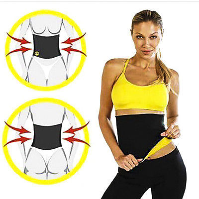 Waist Band Gym Fitness Sports Exercise Waist Support Pressure Protector Body Shapewear Belt Slim Training Sweat For Women Men