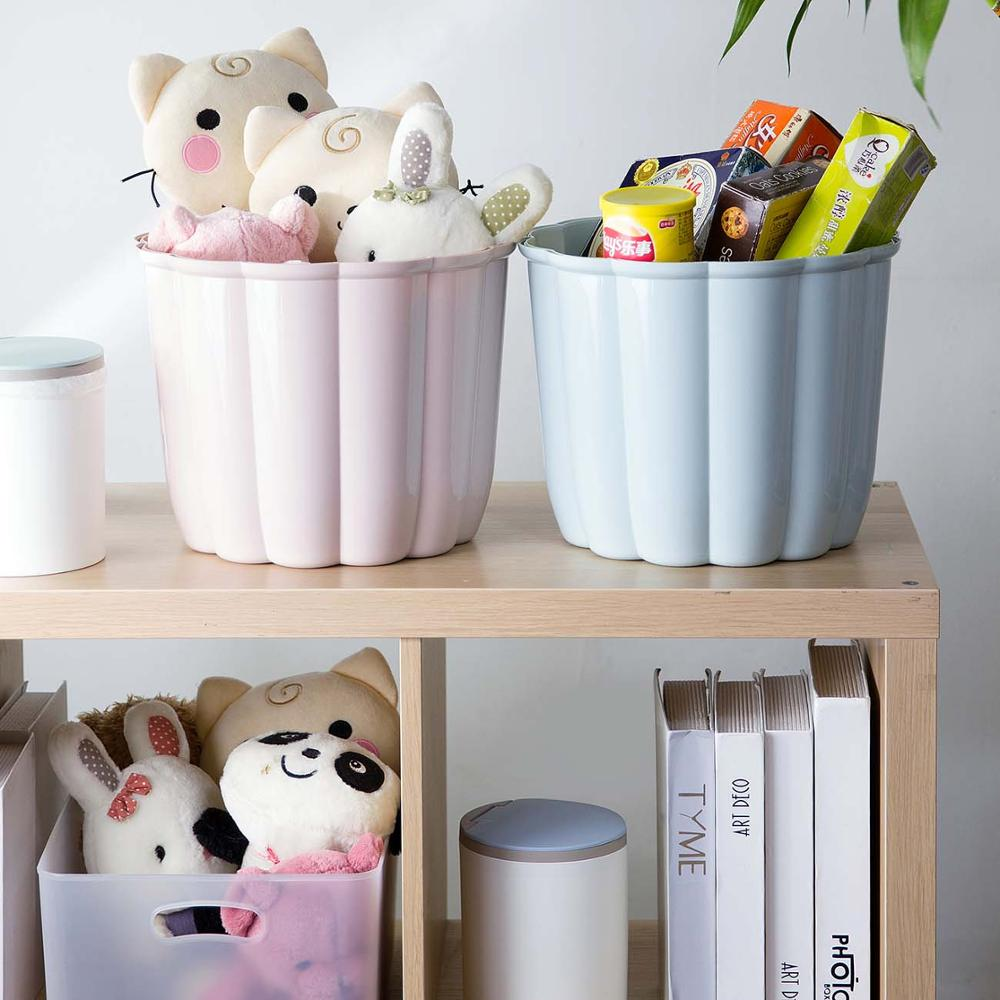 Round Cartoon Storage Stool Home Living Room Adult Shoe Bench Children Plastic Pad Small Bench Stool