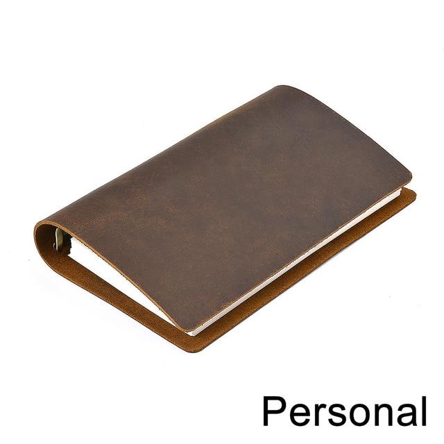 Cahier daffaires classique, cahier, couverture en cuir véritable, feuille ample, carnet de voyage, Journal de voyage, carnet de croquis, offre spéciale