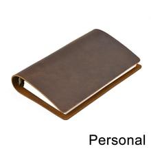 Hot Koop Classic Business Notebook Persoonlijke Lederen Cover Losbladige Notebook Dagboek Travel Journal Sketchbook Planner