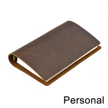 Hot Sale Classic Business Notebook Personal Genuine Leather Cover Loose Leaf Notebook Diary Travel Journal Sketchbook Planner