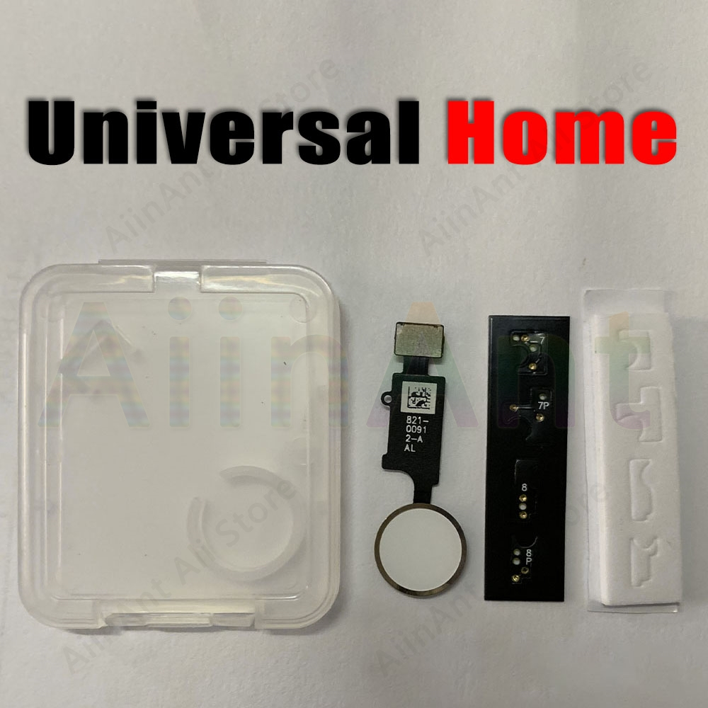 New Updated Edition Universal Return Key For IPhone 7 8 7 Plus 8 Plus Home Button Flex Cable Phone Repair Parts