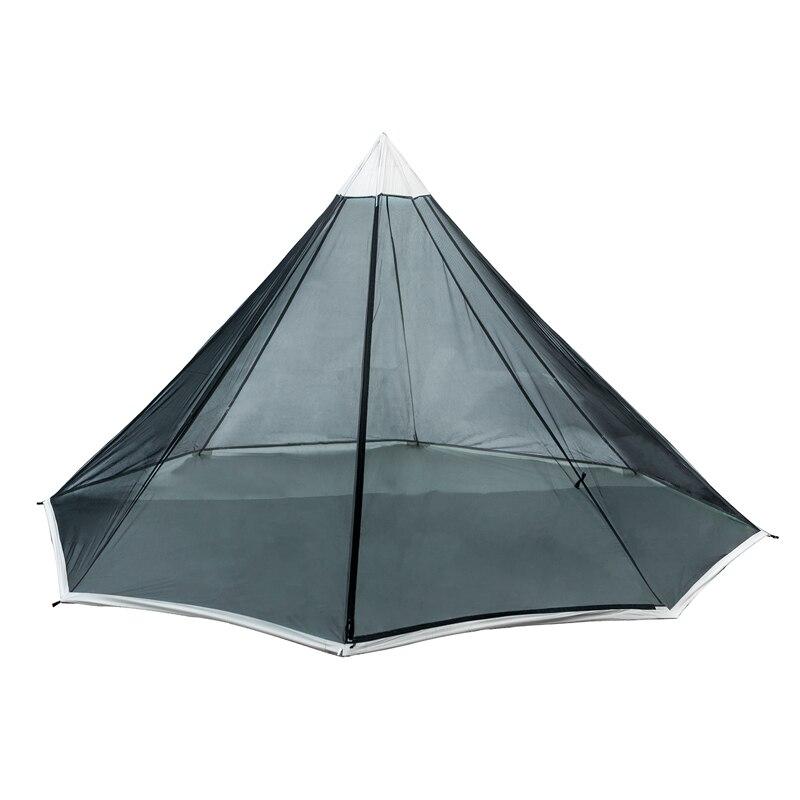 OneTigris Outdoor Tipi Geformt Mesh Zelt Ultraleicht 2 Person Innere Zelt für Sommer Abenteurer Wandern Camping Zelt