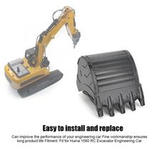 HUINA 1580 partes para cuchara Metal RC cubeta accesorio parte apta para HUINA 1580 RC excavadora coche de ingeniería