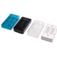 Mega2560 caixa de acrílico transparente escudo compatível para arduino mega 2560 caso r3