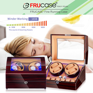 Image 2 - Watch Winder for Automatic Watches New Version 4+6 Wooden Watch Accessories Box Watches Storage Collector