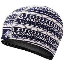 Для взрослых и детей Водонепроницаемая эластичная шапочка для плавания с цветным сердцем Цветочная цифровая печать защита ушей длинные волосы шапочка для спа