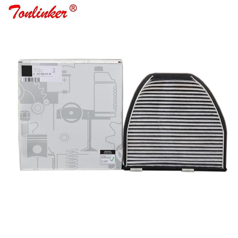 Cabin Filter A2128300038 1Pcs For Mercedes Benz E-CLASS W212 S212 A207 C207 2009-2019 E200 E250 E300 E350 E400 E500 E63AMG Model