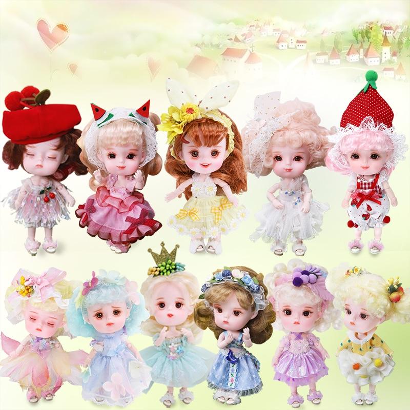 Rêve fée 1/12 BJD poupée DODO poupée ob11 14cm mini poupée 26 corps commun mignon enfants cadeau jouet ange surprise poupée