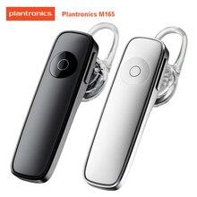 Оригинальная Мобильная Bluetooth гарнитура Plantronics Brand 2 M165 с голосовым управлением и микрофоном с шумоподавлением для Xiaomi Sumsung S10