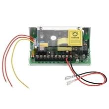 Uso da fonte de alimentação do controle de acesso da porta do fuction de c.c. 12v 5a ups para o fechamento remoto ac 110v do interruptor do sistema de controle de acesso 240v