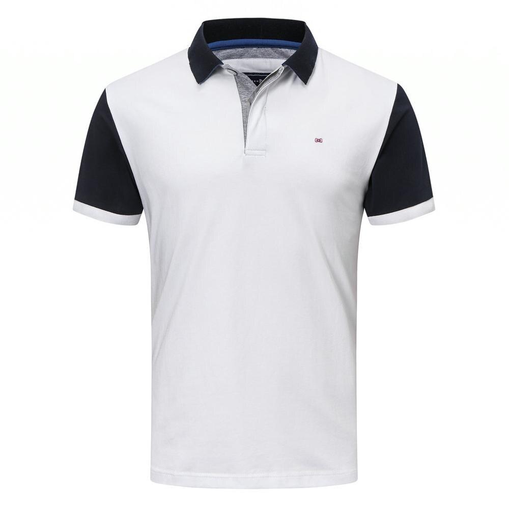 França 2020 100% algodão de alta qualidade dos homens polo camisa manga curta polos moda clássica camisas casuais masculino m a 3xl 5