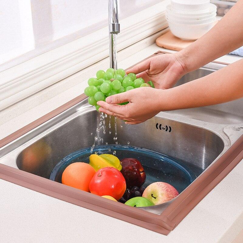Beautiful Foldable Acrylic Glue Kitchen Stove Sink Toilet Bathroom Corner Wardrobe Waterproof Mildew-proof Tape Colorful Moderate Cost