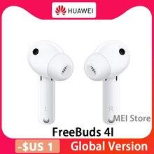 Беспроводные наушники HUAWEI FreeBuds 4i FreeBuds 4 i с динамическим блоком 10 мм, беспроводная гарнитура Bluetooth 5,2 с активным шумоподавлением