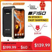 F150 B2021 IP68/69K SmartPhone 6GB + 64GB 8000mAh Octa Core-Handy NFC 5.86 ''HD + MediaTek Helio G25 13MP Kamera Telefon