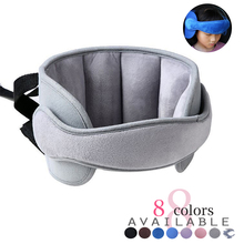 Child Head Holder In Car Seat Protective Belt Baby Head Subject Fixed Prevent Collision Sleep Aid Pad Auto Styling Accessories