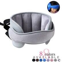 Titular da cabeça da criança no assento de carro cinto de proteção assunto cabeça do bebê fixo evitar colisão almofada de ajuda ao sono acessórios estilo automóvel
