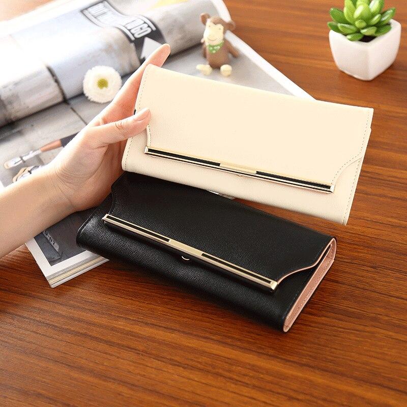 Women's Long Wallet 2020 Handbag Multi Function Card Bag Mobile Phone Bag Zero Wallet Female Wallet