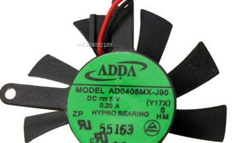 For AD0405MX-J90 4006 5V 0.2A4CM Laptop Cooling Fan Free Shipping