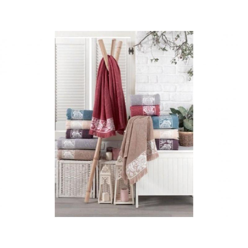 Towel DO & CO, ROSE, 70*140 cm