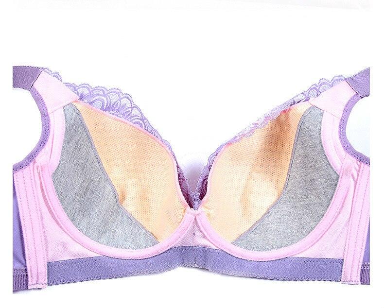 Embroidery Lace Bra Women Ultra Thin Plus Size women's Underwear