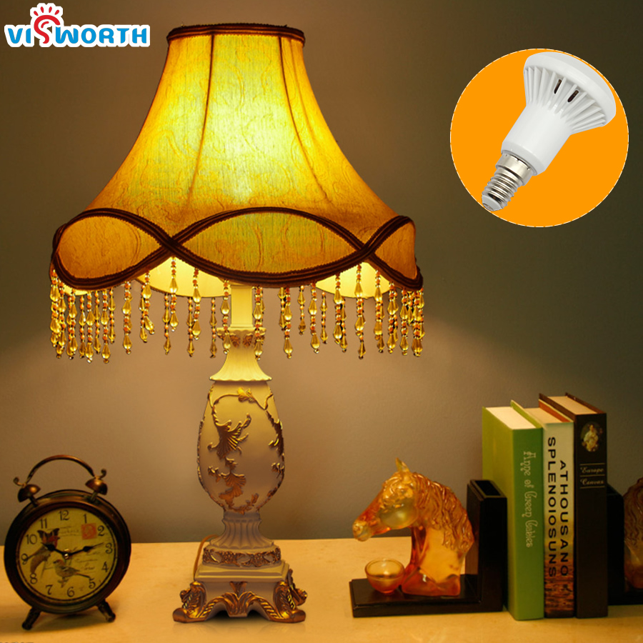 Купить с кэшбэком R50 LED Bulbs E14 Base SMD5730 Lampada LED Bombillas AC 110 220V 240V Warm White Cold White Led Lamp For Home