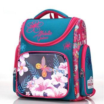 2019 children School Bags girls Cute Waterproof Orthopedic school Backpack kids princess cartoon Schoolbag Mochila Infanti