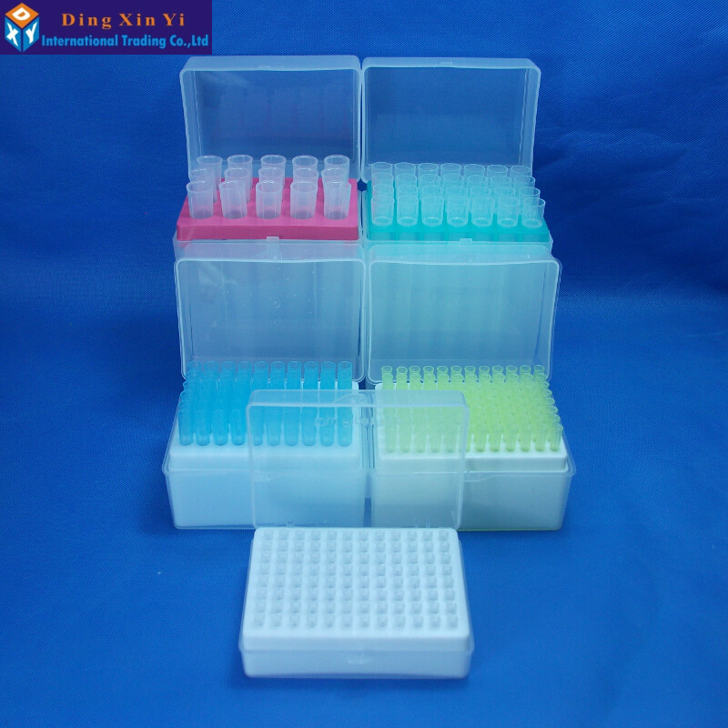10ul 200ul 1ml 5ml 10ml Pipette Suction Box Pipettor Tip Box With Pipetter Tips Free Shipping