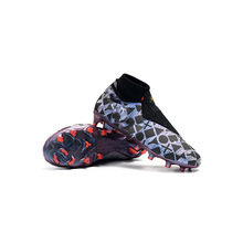 New Hot Selling High-top and Dark-shaven Knitted Waterproof AG Football