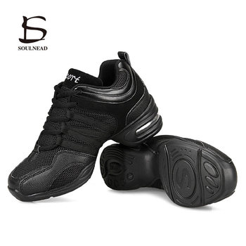 цена на Size 28-42 Jazz Dance Shoes Women's Dance Sneakers Lightweight Breathable Woman Dancing Shoes Ladies Girl's Modern Sports Shoes