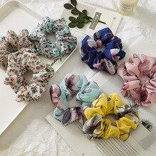 Для женщин удобные резинка для волос, обтянутая тканью; веревка кольцо галстук лента для прически «конский хвост» удобный волос ремень