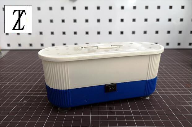 Model Making Tool Mini Portable Cleaning Machine Airbrush And Parts Cleaning Shake Cleaning Machine