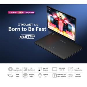 "Image 2 - Tablet telefoniczny Teclast T30 4G android 9.0 10.1 ""1920x1200 MTK P70 4GB RAM 64GB ROM tablety PC podwójny aparat GPS type c 8000mAh"