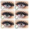 EYESHARE 2 шт./пара модные SAIM серии Цвет контактные линзы для глаз Цвет линзы ed связаться с нами оборудование для салонов красоты