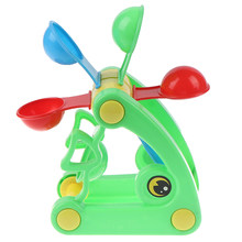 High Quality Cute Windmill Waterwheel Summer Play Sand Water Toys Swimming Pool Bathing Beach Party Child's Play Bath Toy 1pcs(China)